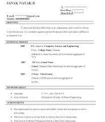 Resume For Fresher Teacher Job Resume Format For Freshers In