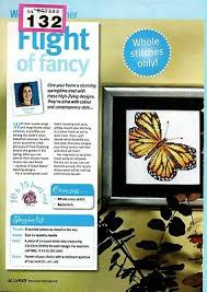Butterfly Alphabet Chart Cross Stitch Chart Flight Of Fancy Butterfly Abc