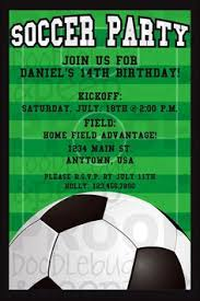 Soccer Party Invitation Template Soccer Party Invite Template Magdalene Project Org