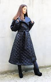 black winter coat waterproof jacket warm extravagant coat asymmetric coat black jacket