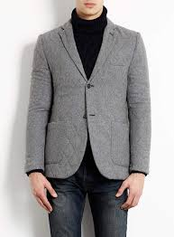 Topman Grey Quilted Blazer | Where to buy & how to wear & ... Topman Grey Quilted Blazer ... Adamdwight.com