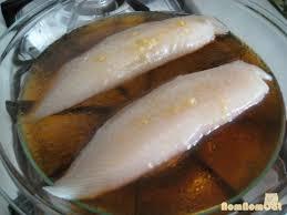 Steamed Fish with Scallion-Ginger-Soy Sauce \u2013 nom nom cat