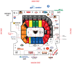Ppl Arena Allentown Seating Chart Ppl Center Tickets In Allentown Pennsylvania Experienced Ppl