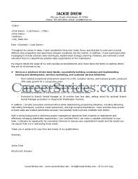 Outstanding Cover Letter Examples   Retail Store Manager Covering Letter  Examples   My Blog  WorkBloom