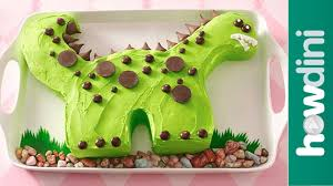 Birthday Cake Ideas Dinosaur Birthday Cake Decorating Ideas Youtube