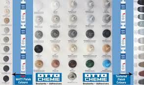 Mapesil Sealant Colour Chart Hundreds Of Coloured Sealants Mastic In Stock In Chingford