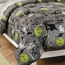 with 180tc sheets twin gray comforter sets
