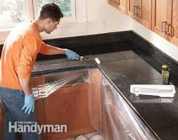 install granite countertop on granite tile countertop