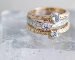 sea glass and diamond engagement ring new era design vancouver custom designed engagement rings wedding