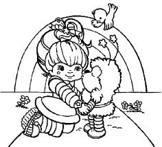 Small Picture Twink Kiss Rainbow Brite Coloring Page Color Luna