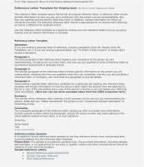 Sample Job Recommendation Letter For Employee Job Reference Letter