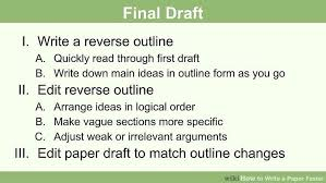 how to write a paper faster steps pictures wikihow image titled write a paper faster step 10
