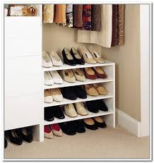 Elegant Shoe Rack Ideas For Small Spaces Home Design Small Closet Shoe  Storage Ideas Prepare