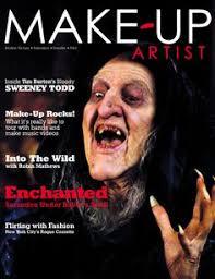 sweeny todd makeup artist magazine