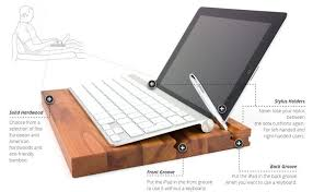 a lap desk stand for the ipad groovboard