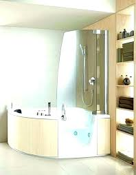 whirlpool shower combo tubs shower combo small whirlpool tub corner the perfect solution for bath design