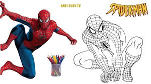 Small Picture Spiderman Coloring Book Coloring Pages For Kids YouTube