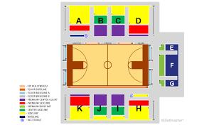 Kaiser Permanente Arena Seating Chart Santa Cruz Warriors Vs Agua Caliente Clippers 2019 12 13 In