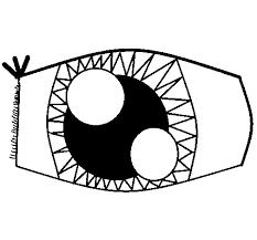 Small Picture cute cartoon eyes coloring page coloring sun free eye coloring
