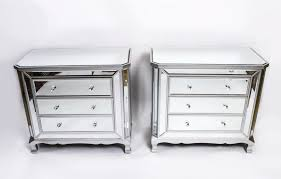 next mirrored furniture. Architecture: White Seattle Madison Mirrored Glass 3 Drawer Chest Of Drawers Pertaining To Next Furniture W
