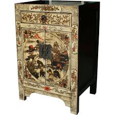 cream painted bedside table bedside tables chinese furniture chinese antique amazoncom oriental furniture korean antique style liquor
