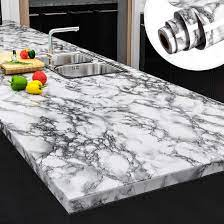 Yenhome Faux Peel and Stick Countertops ...