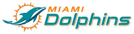 Miami Dolphins logo - Mommy Mafia