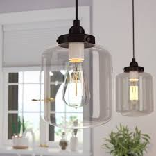 Glass jar pendant light Rustic Timnath 1light Jar Pendant Wayfair Mason Jar Pendant Light Wayfair