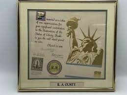 Please do your research before buying insurance from state farm. Statue Of Liberty Restoration Certificate State Farm Insurance Company 1985 Ebay