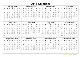 Calendar Planner Printable 2015 12 2015 Yearly Calendar Template Images 2015 Calendar