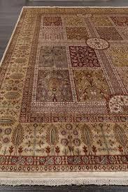 antiquity persian begie ivory oriental wool rug 8 x 10