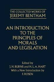 jeremy bentham works the collected works of jeremy bentham an introduction to the