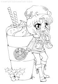 Cute Kawaii Food Coloring Pages At Getdrawingscom Free For