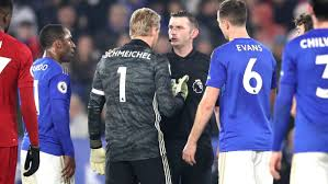 Highlights from liverpool's draw against leicester in the referee atkinson was centre stage on 57 minutes as he failed to penalise ricardo pereira's. The Referee Had To Make Himself A Hero Leicester City S Schmeichel Fuming After Liverpool Penalty Goal Com