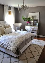Bedroom, Charcoal Grey Wall Color For Colonial Bedroom Decorating Ideas For  Young Women With Printed