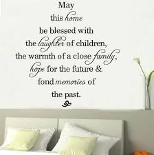 wall sticker sayings may this home be blessed vinyl wall decals quotes sayings words art decor lettering vinyl wall art bedroom stickers for walls bedroom  on vinyl wall art words stickers with wall sticker sayings may this home be blessed vinyl wall decals
