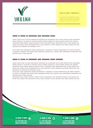 Business Letter Header Template Company Letterhead Sample Format Of Business Free Templates