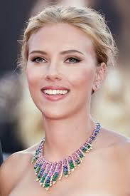 her makeup is flawless here love the eyes cheeks lip all of scarlett johansson