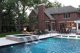 auto covered pool and spa lincolnshire Traditional Pool