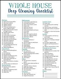 Best Spring Cleaning Checklist