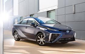 Car And Driver Reviews 2016 Toyota Mirai: Not A Sport Sedan ...