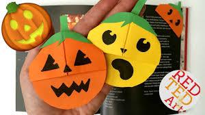 easy pumpkin emoji bookmark jack o lantern diy paper craft you
