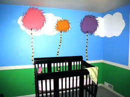 baby nursery dr seuss baby nursery ideas girls bedding oh the wall murals source a