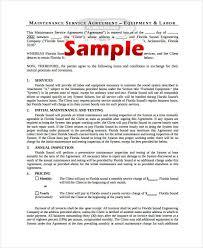 10 Simple Service Agreements Word Pdf Free Premium Templates