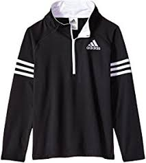 adidas quarter zip. new! adidas kids - quarter zip pullover top (big kids)