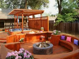 patio designs with fire pit and hot tub. Person Outdoor Hot Tubs Square Shape Tan Interior Color Blue Led Plus Fire Pit And Patio Designs With Tub S