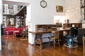 Vintage Artist Studio On Courtyard Apartment Paris - Vintage studio apartment design