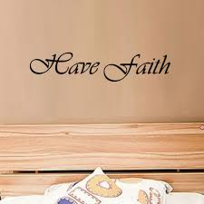 cacar have faith inspirational words baby nursery wall stickers decorative art vinyl decal home decor removable on wall art words for nursery with cacar have faith inspirational words baby nursery wall stickers