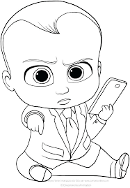 Boss Baby Free Printable Coloring Pages Betterfor