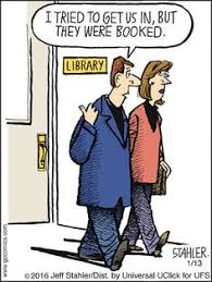 moderately confused by jeff stahler for feb 24 2018 librarian humorteacher humorgrammar humorlibrary booksny